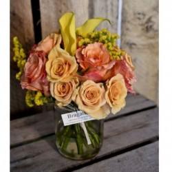 Mini Bouquets en Vidrio