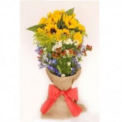 Bouquet de girasoles