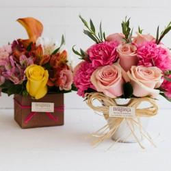 Mini bouquet en laton