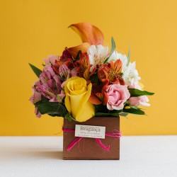 Mini Bouquet en madera