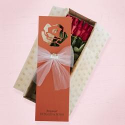 Caja Braganca Roja x 24 rosas